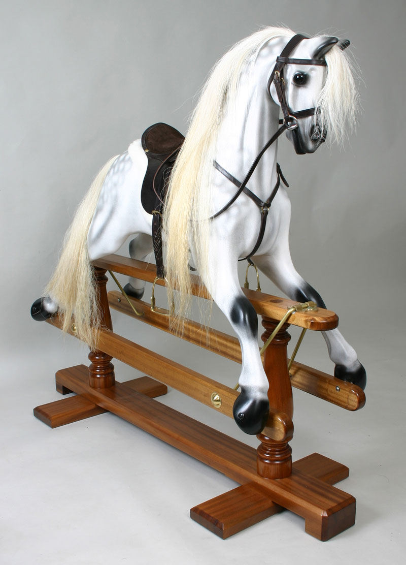Plans to build How To Dapple Rocking Horse PDF Plans