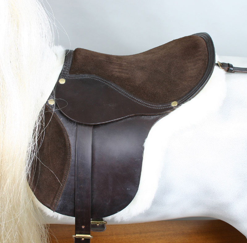 rocking horse saddle with numnah