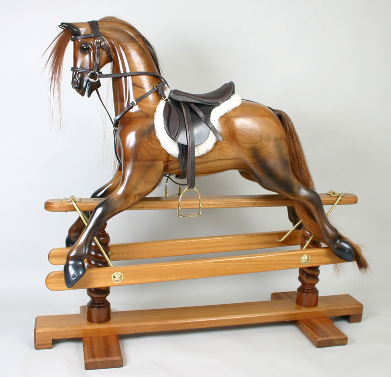 Wooden Rocking Horse ~ Rocking horse wooden animals animal and the