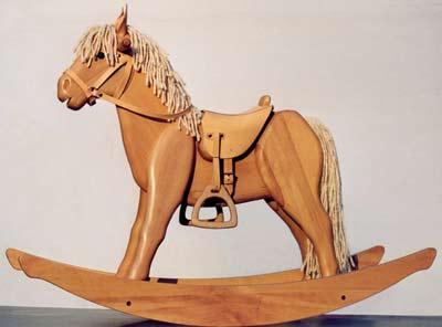 Cavallo A Dondolo Legno.Cavallo A Dondolo In Legno For Italy